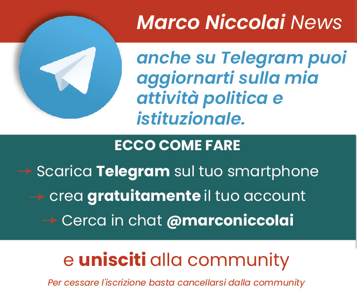 @marconiccolai su Telegram